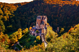 Burg Eltz Abendrot